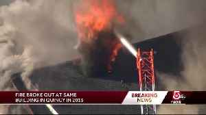 Massive fire is not first to strike Quincy buildings [Video]