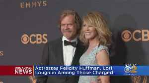 News video: Actresses Huffman, Loughlin Charged In College Admissions Scheme