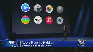 Apple To Unveil New Products [Video]