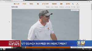 News video: UT Coach Among Those Indicted In College Admissions Bribery Scandal