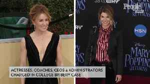 News video: Felicity Huffman and Lori Loughlin Among Dozens Indicted in Alleged College Admissions Scam