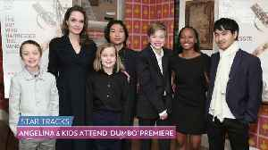 Angelina Jolie's Youngest Children Join Her on the Red Carpet for the Premiere of 'Dumbo' [Video]