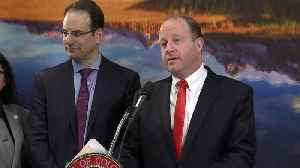 Gov. Polis, AG Weiser announce lawsuit against Trump administration over withholding of Justice Dept. grant money [Video]