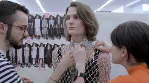 The Magical Making of Paco Rabanne's 144-Hour Crystal Dress [Video]