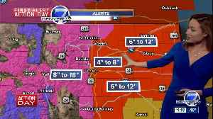 Blizzard warnings issued for Denver, northeast Colorado for Wednesday storm [Video]