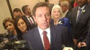 Gov. Ron DeSantis hitches ride to New York on South Florida gambling mogul's jet; GOP picks up tab [Video]