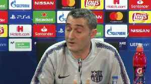 Barca must learn from PSG, Real capitulations - Valverde [Video]