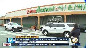 Workers impacted by ICE raid at Zion Market voice their concerns [Video]