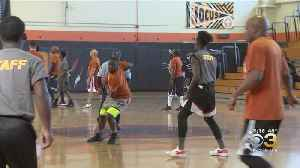 Overbrook High School Students Take On Cops In Basketball Tournament [Video]