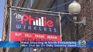 Security Guard, Shoots, Kills Man Armed With Butcher Knife, Police Say [Video]
