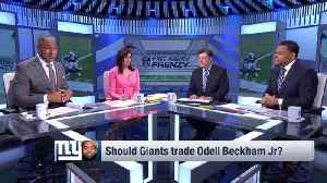 Why do New York Giants wide receiver Odell Beckham Jr. trade rumors keep popping up? [Video]