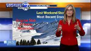 Why are we seeing so many avalanches in Colorado? Meteorologist Stacey Donaldson explains [Video]