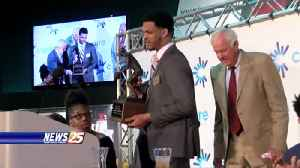MSU's Quinndary Weatherspoon wins Howell Trophy [Video]