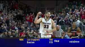 Gonzaga buries Pepperdine by 26 to advance to WCC Championship [Video]