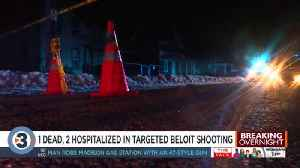 'You would never expect this:' 1 dead, 2 hospitalized after targeted shooting in Beloit [Video]