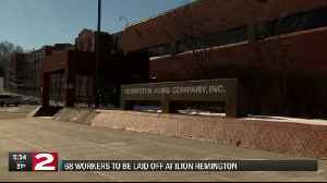 Nearly 70 positions to be cut at Ilion's Remington Arms plant [Video]