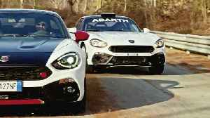 Abarth 124 rally in the 2019 season - optimized Spider to maintain leadership position in rallying [Video]