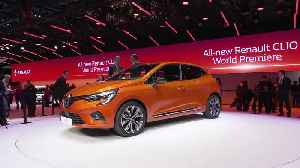 Renault presented the Clio 5 at the 2019 Geneva International Motor Show [Video]