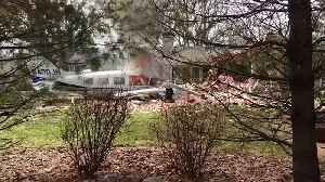 Small plane fatally crashes into family home [Video]