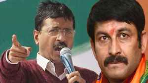 Arvind Kejriwal attacks Manoj Tiwari over Delhi Full Statehood | Oneindia News [Video]