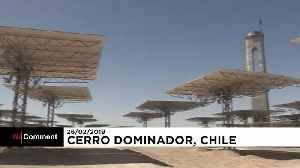 Latin America's first thermosolar plant is being built in Chile [Video]