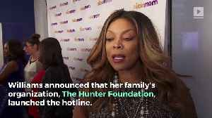 Wendy Williams Announces New Substance Abuse Hotline [Video]