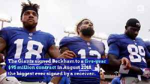 Odell Beckham Jr. Traded to Cleveland Browns [Video]
