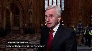 McDonnell: Spring Statement was threat from Hammond and May [Video]