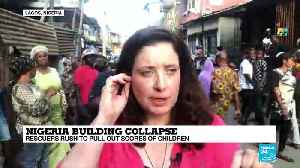 Nigeria building collapse: 'There's no crowd control [Video]