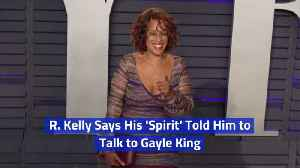 Is R. Kelly Being Taken Over By A Spirit [Video]