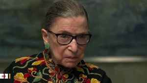 New York Authorities Investigate Graffiti On Ruth Bader Ginsburg Poster [Video]