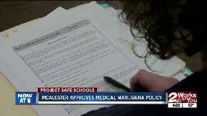 As Tulsa says no to medical marijuana on campus, McAlester gives green light [Video]