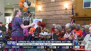 Retirement community choir to sing National Anthem at Orioles game [Video]