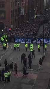 Schalke Fans Party on Manchester Streets Before Champions League Clash [Video]