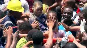 Seven Children Rescued From Collapsed Building In Nigeria's Lagos [Video]