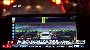 Las Vegas making plans to digitize more roadways for self-driving cars [Video]