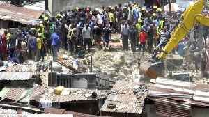 Lagos Governor Says Search For Survivors Ongoing Following Deadly Building Collapse [Video]