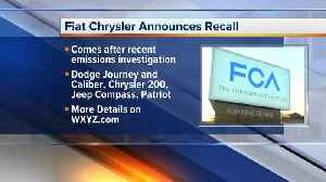 Fiat Chrysler announced recall of vehicles [Video]