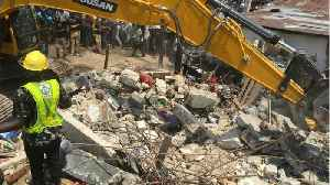 100 Children Among Those Feared Trapped In Collapse Of Nigerian Building [Video]