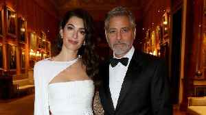 Amal And George Clooney Attend Dinner At Buckingham Palace With Prince Charles [Video]