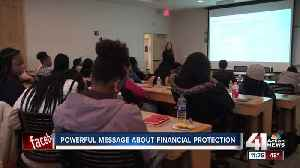 Powerful message about financial protection [Video]