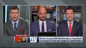 Mike Garafolo: New York Giants-Cleveland Browns trade talks for Odell Beckham Jr had been going for 'a couple weeks' [Video]
