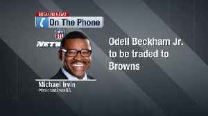 Michael Irvin: 'I'm ready to put Cleveland at top' of AFC North after Odell Beckham Jr. trade [Video]