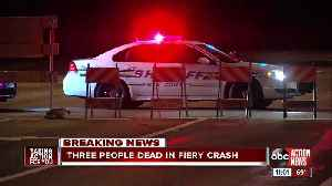 Three people are dead in a two-vehicle car crash in Polk County. [Video]