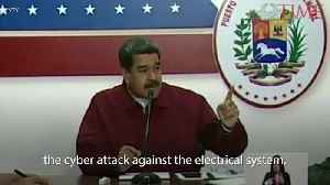 Venezuela's Nicolas Maduro Blames the U.S. for Power Outage [Video]