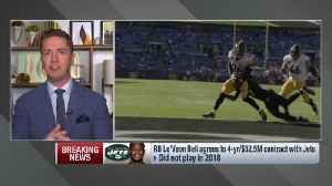 NFL Network's Tom Pelissero discusses how New York Jets might use running back Le'Veon Bell [Video]