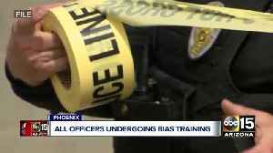 All Phoenix police officers undergoing bias training [Video]