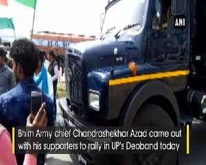 News video: Bhim Army chief Chandrashekhar Azad arrested in UPs Deoband