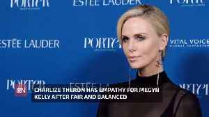 Charlize Theron Likes Megyn Kelly More After Being Her [Video]