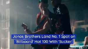 'Sucker' Makes The Jonas Brothers Number 1 [Video]